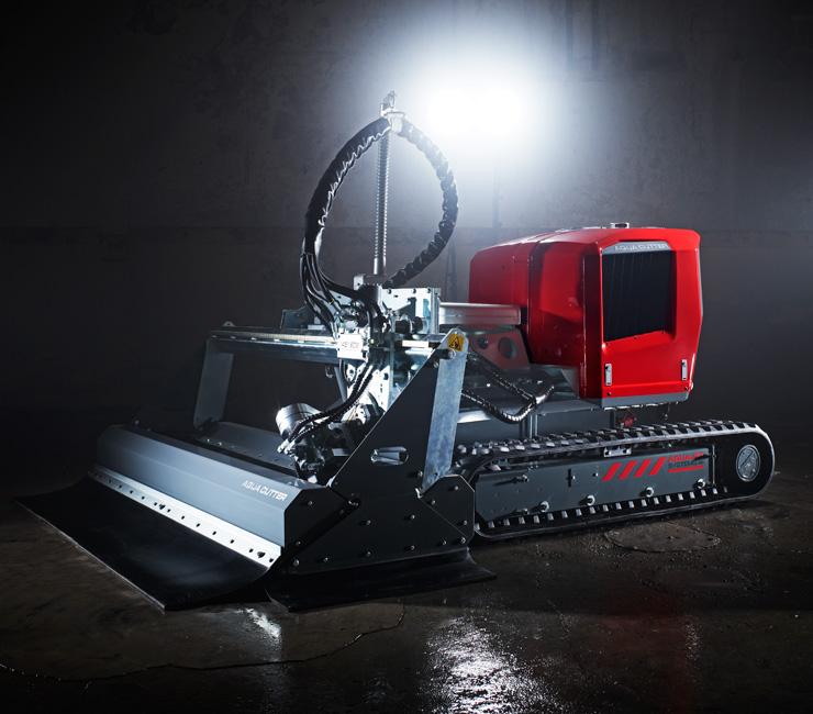 Aqua Cutter Hydrodemolition Robots