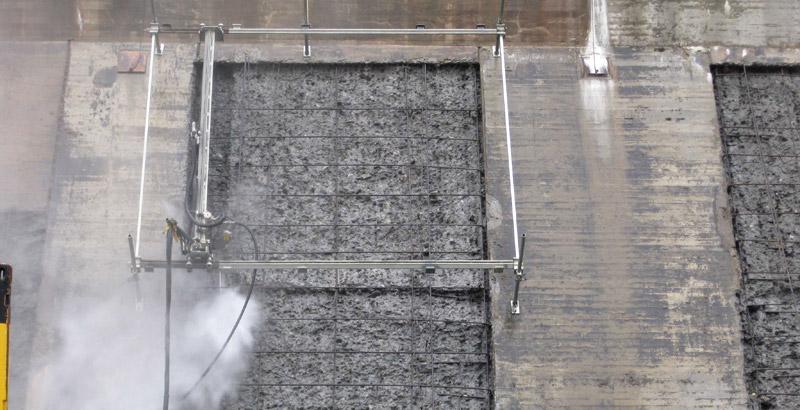 Hydropower Plant Hydrodemolition