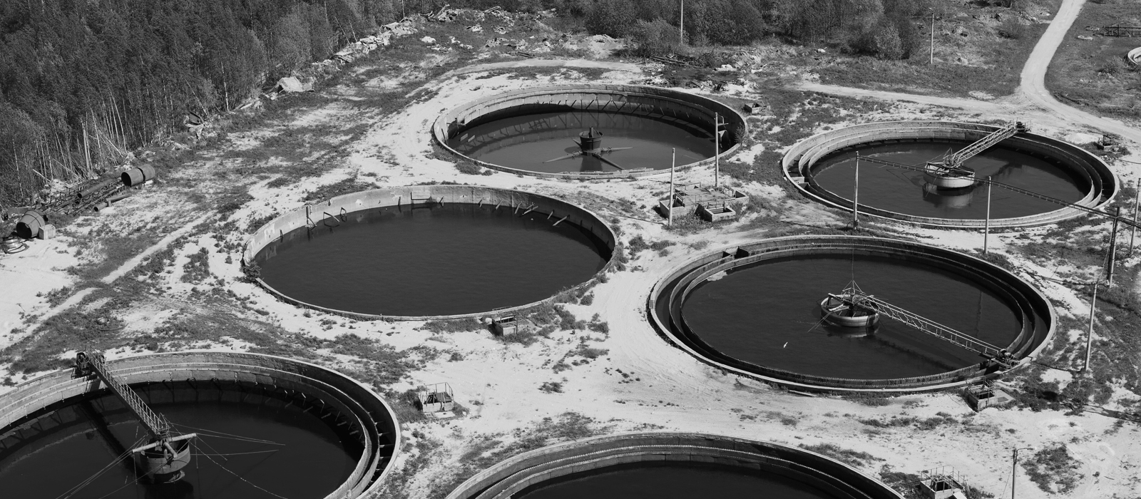 Wastewater Plant Hydrodemolition