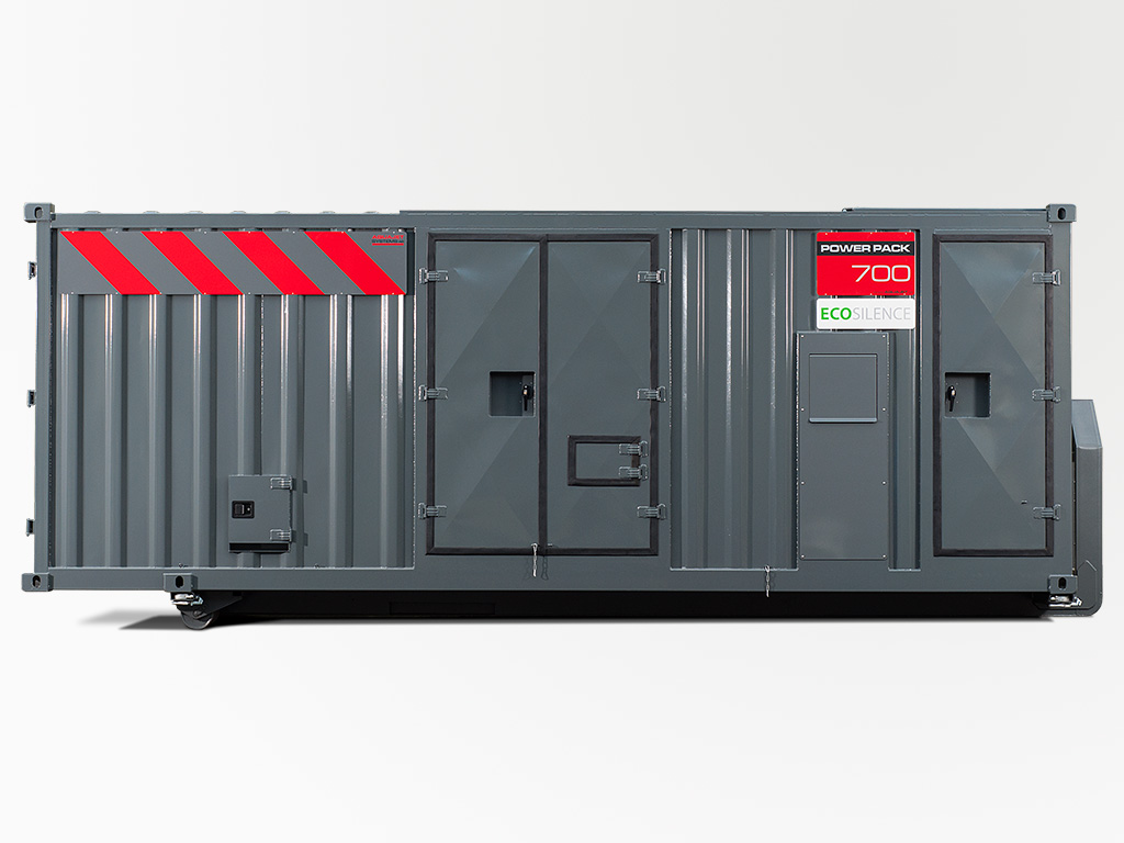 Power Pack Ecosilence doors closed