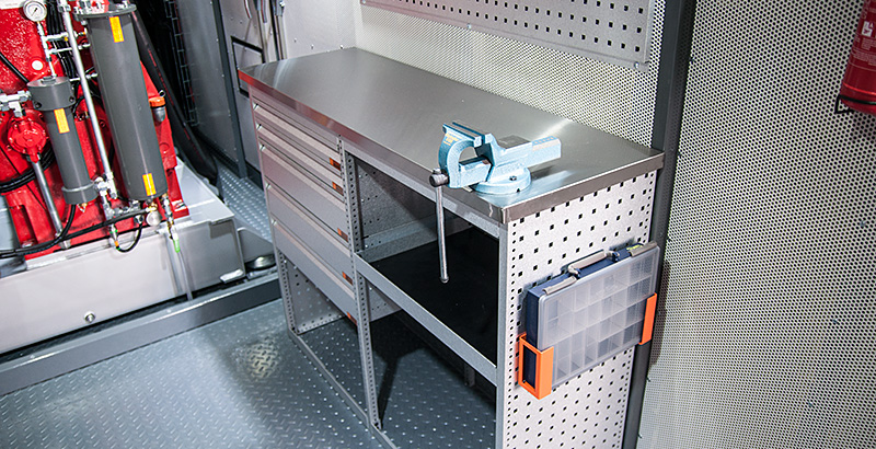 Power Pack workbench
