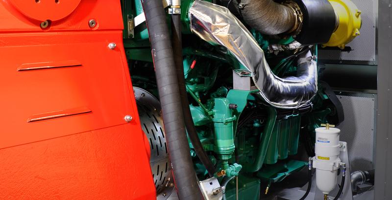 Skid-Mounted High-Pressure Pump Engine