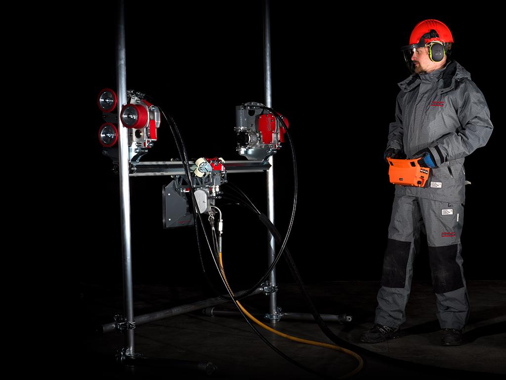 ERGO Climber Hydrodemolition Accessory