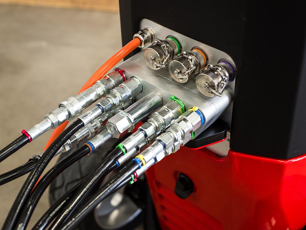 ERGO Controller Hydrodemolition Operating System