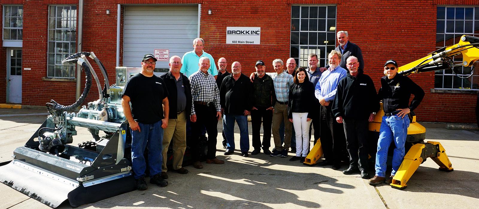 aquajet systems brokk inc hydrodemolition aqua cutter new facility