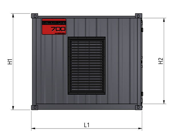 Aqua Power Pack 270 - Hydrodemolition High-Pressure Pump specifications