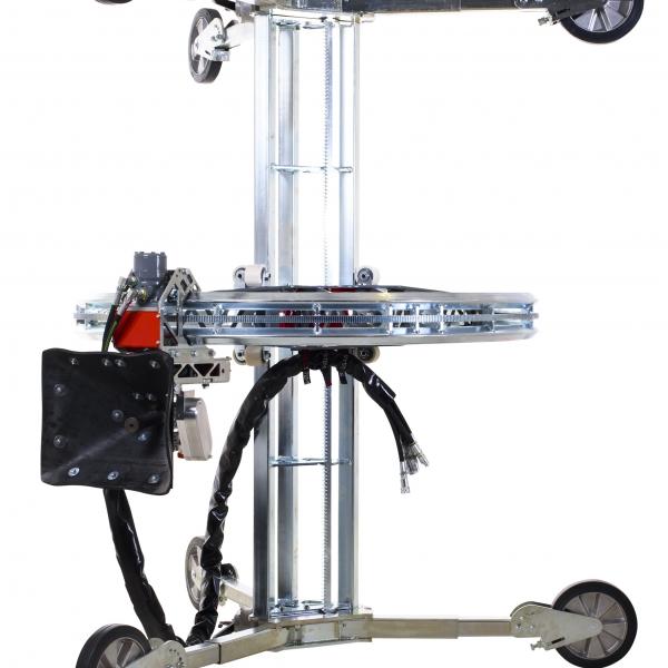 Aqua centralizer aquajet cutter hydrodemolition industrial cleaning refractoring