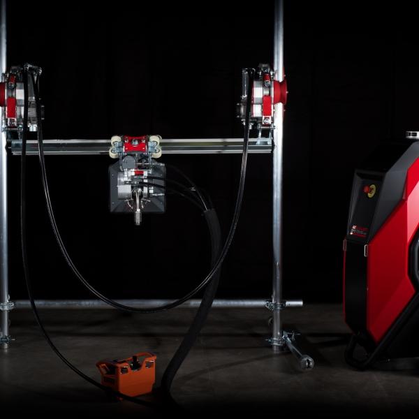 ergo go aqua cutter aquajet hydrodemolition industrial cleaning refractoring