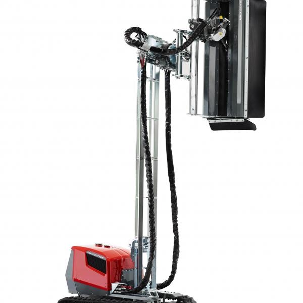 aqua cutter 410V aquajet hydrodemolition industrial cleaning refractoring