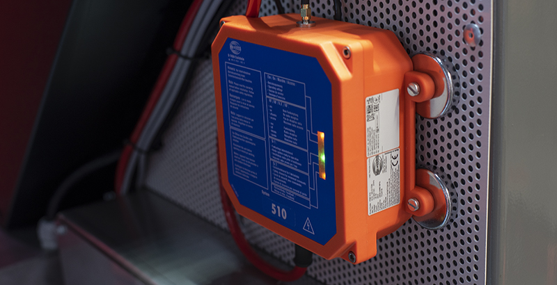 hydrodemolition high-pressure pump power pack signal receiver