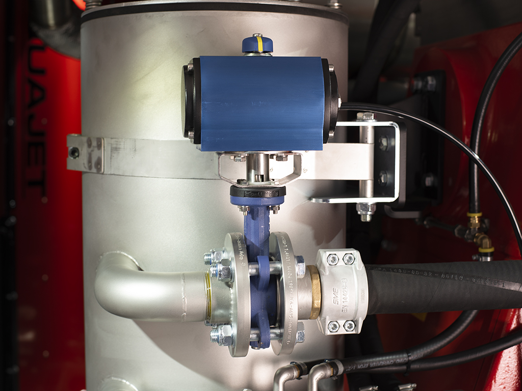 Inlet Outlet Robot Inside aquajet hydrodemolition industrial cleaning concrete repair pump accessories ecosilence power pack features benefits standard options safety control system