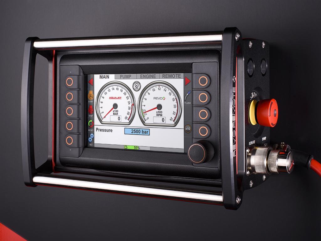 ecosilence-3.0 hydrodemolition high-pressure pump power pack revo remote