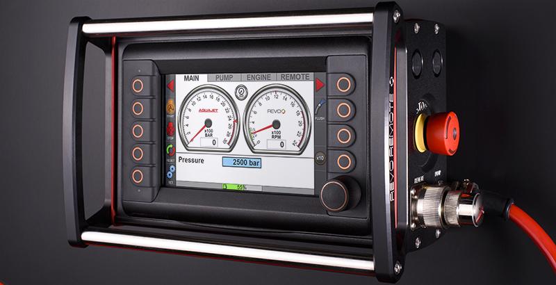hydrodemolition high-pressure pump power pack revo remote