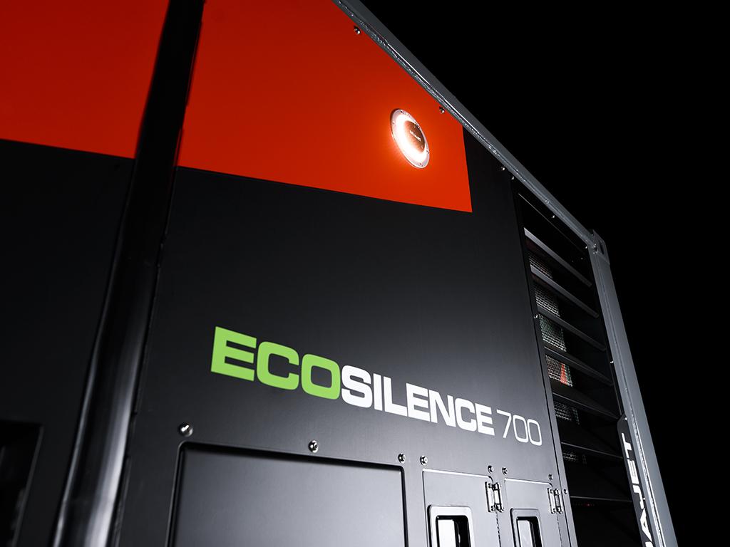ecosilence-3.0 hydrodemolition high-pressure pump power pack