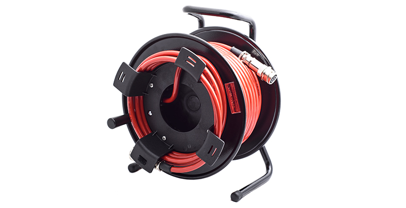 hydrodemolition high-pressure pump power pack cable spool