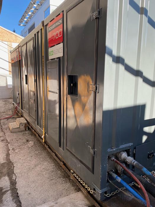 aquajet conterra hydrodemolition aqua cutter eco-friendly restoration parking garage ecosilence ecoclear