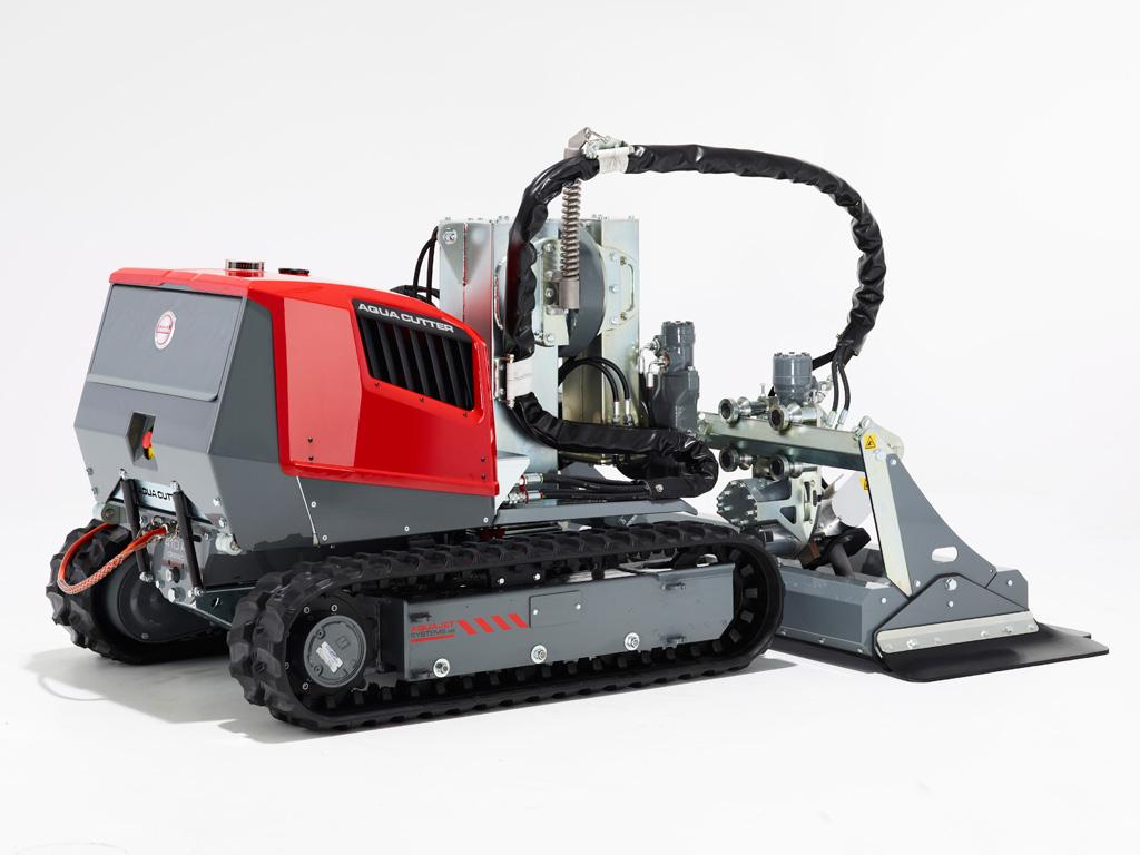 Aqua Cutter 410A Hydrodemolition Robot
