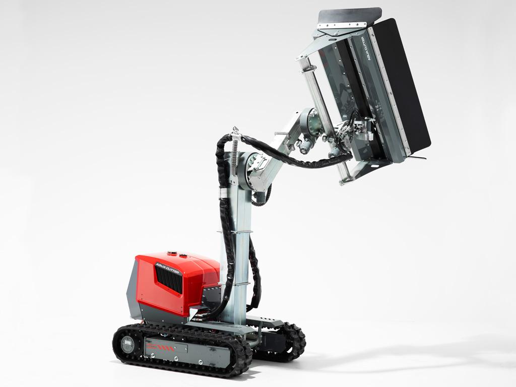 Aqua Cutter 410A Hydrodemolition Robot mast rotation