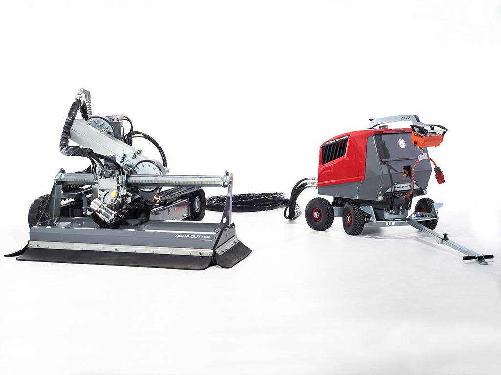 Aqua Cutter 410A Hydrodemolition Robot PCM Carrier