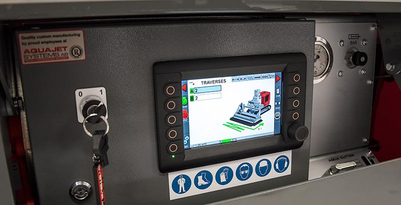 Evolution Hydrodemolition Robot Control System