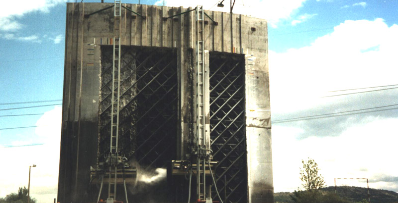 Nuclear Hydrodemolition