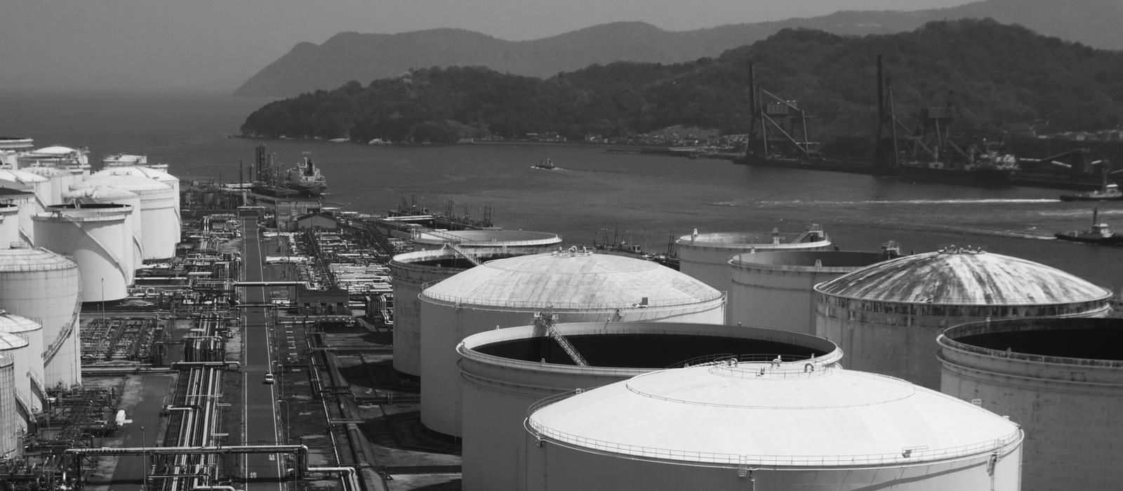 Petrochemical Plant Hydrodemolition