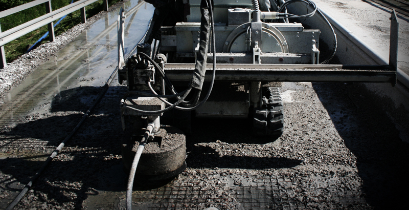 Rotolance airport runway rubber removal