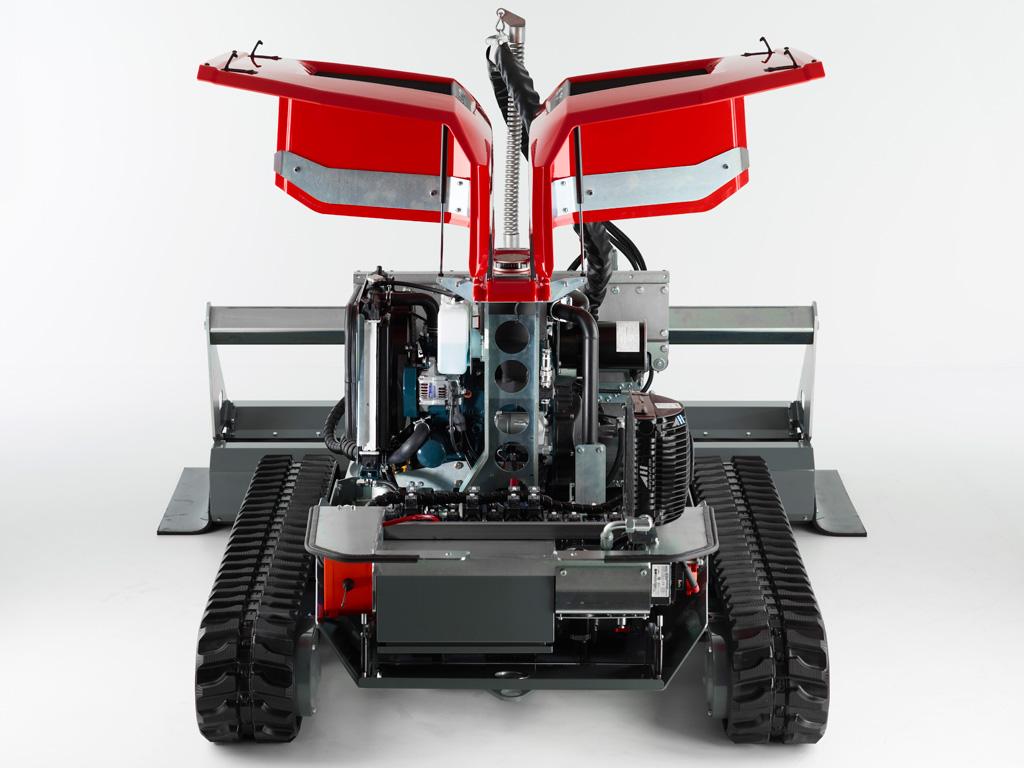 Aqua Cutter Hydrodemolition Robot