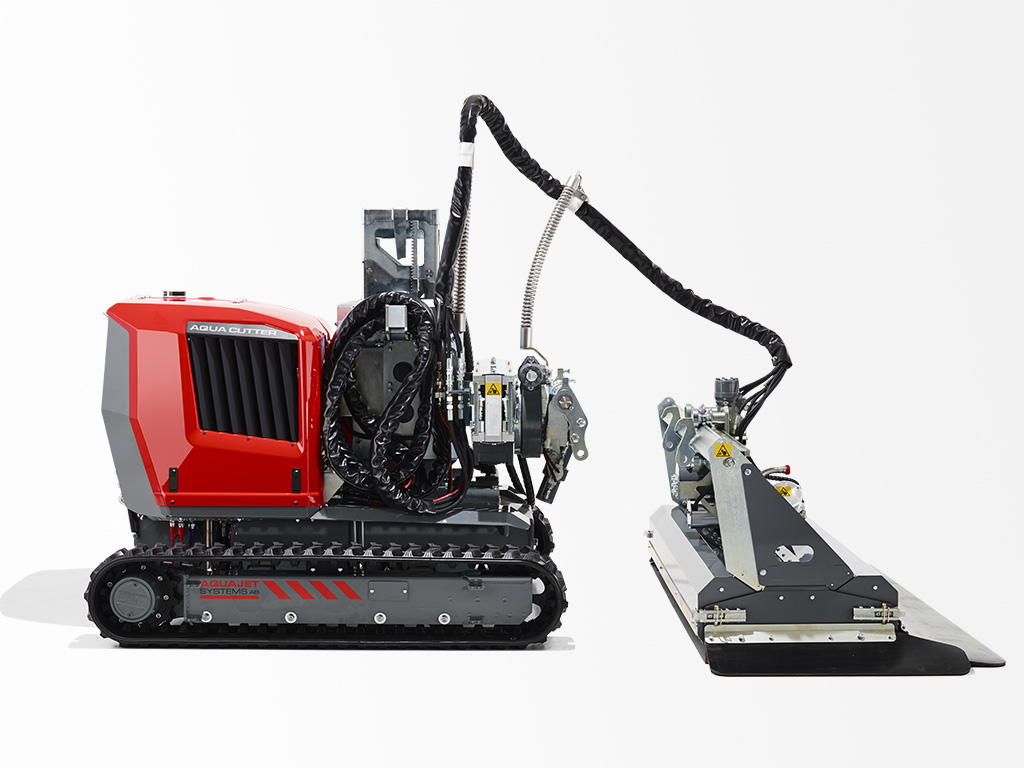 Aqua Cutter 710V Hydrodemolition Robot