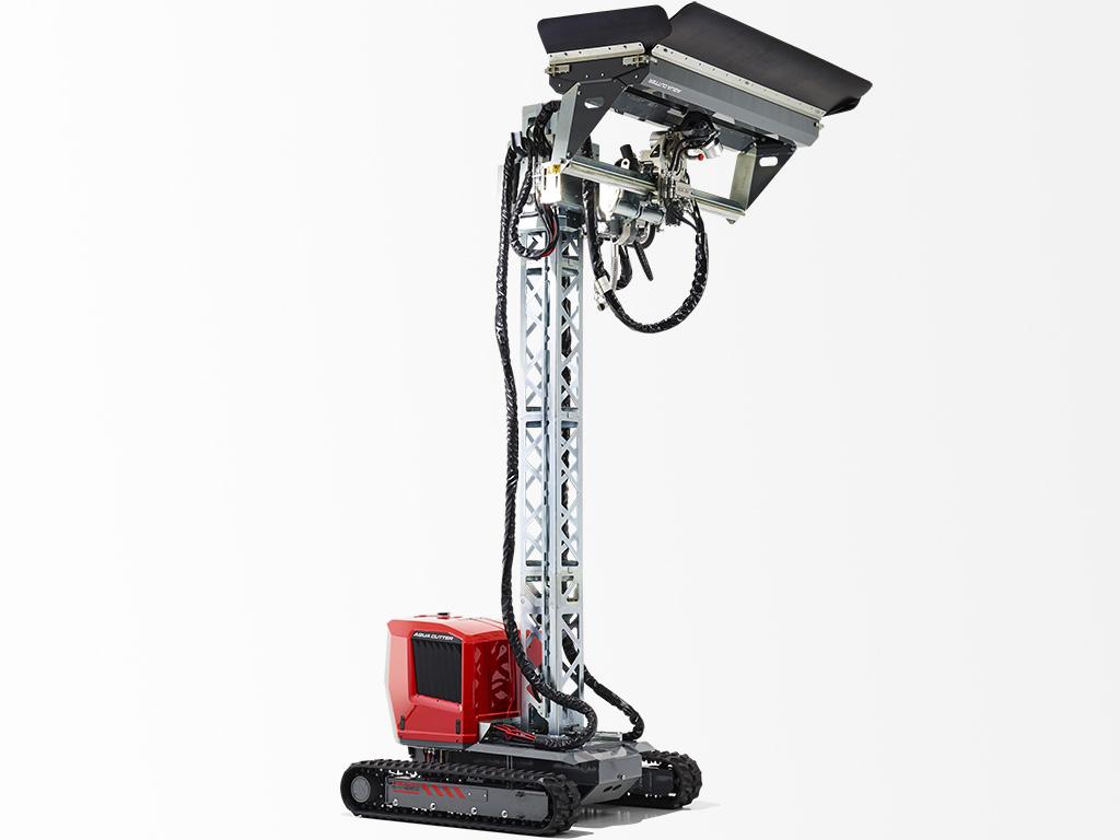 Aqua Cutter 710V Hydrodemolition Robot Vertical Position