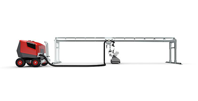 Aqua Cutter PCM Carrier Hydrodemolition Accessory and Aqua Spine
