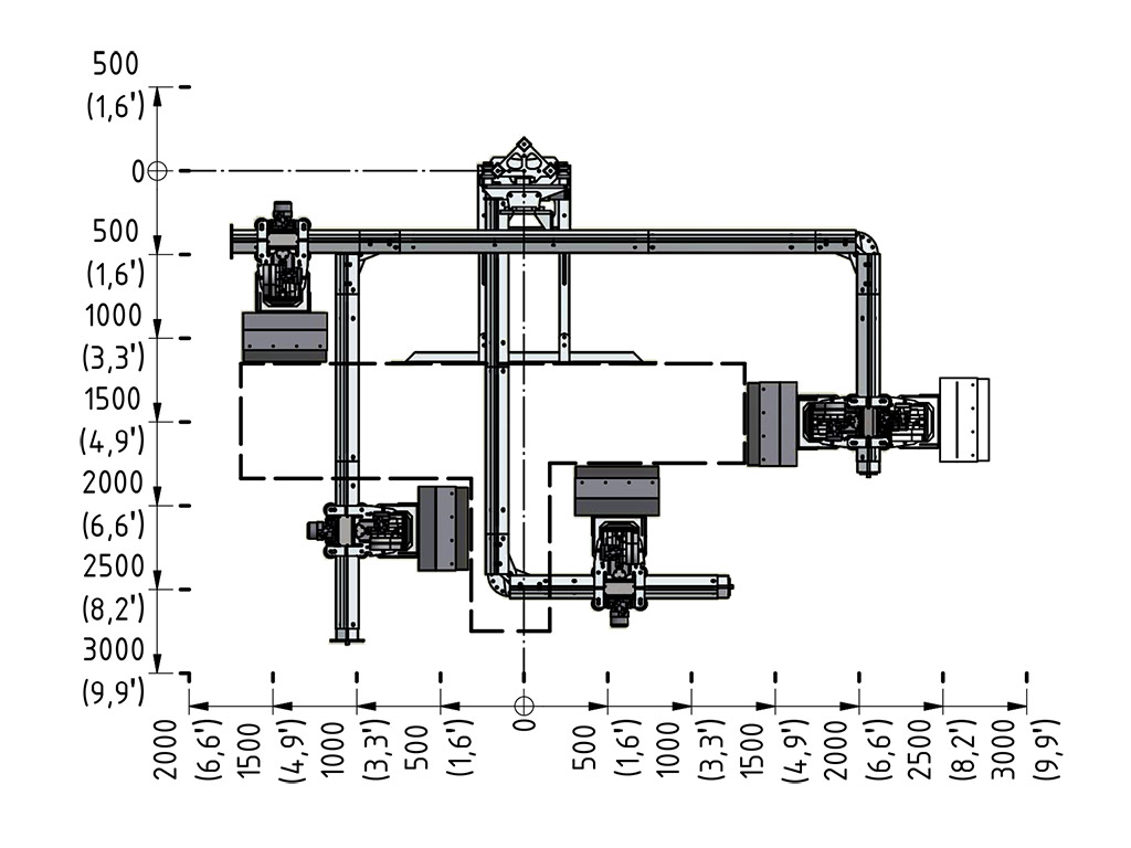 Aqua Spine Hydrodemolition Multi-Modular Support Rail specification