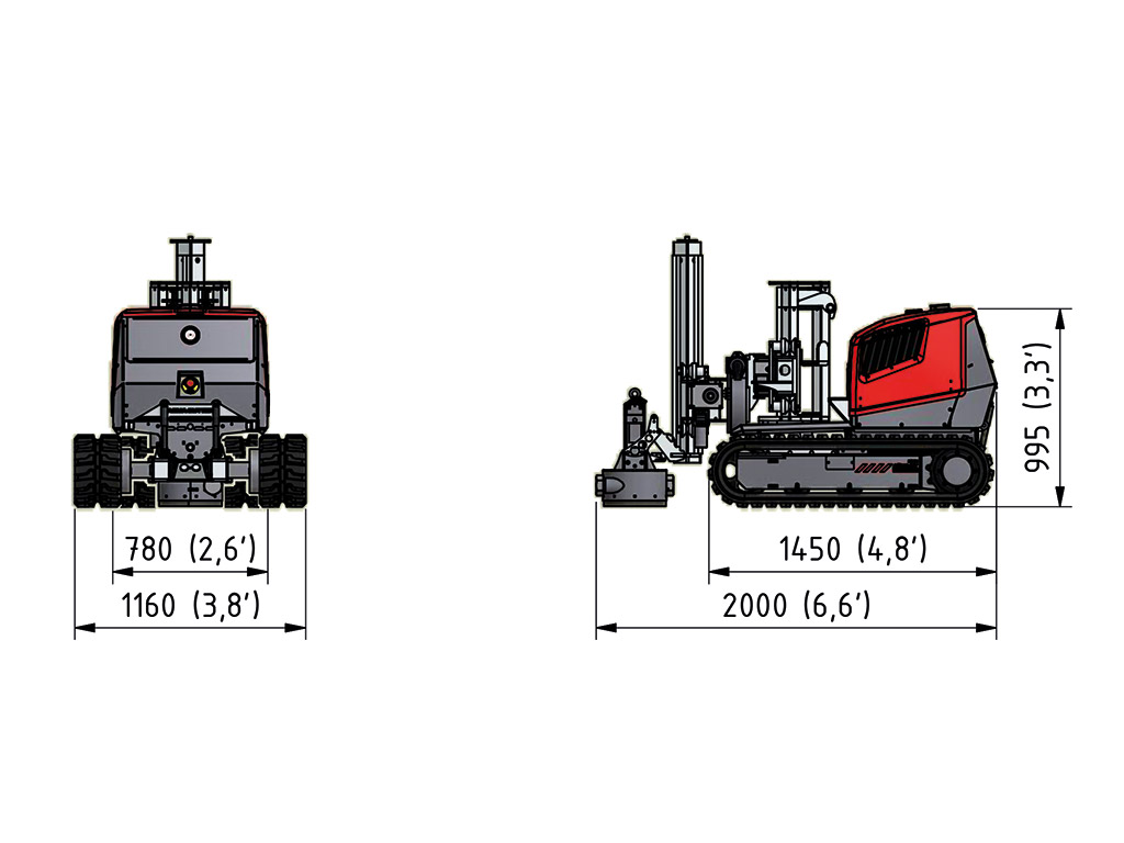 Aqua Cutter 410V Hydrodemolition Tunnel Kit specification