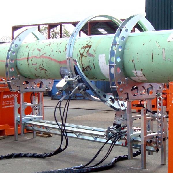 Aqua Spine Hydrodemolition Multi-Modular Support Rail with CPH