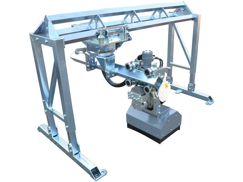 Aqua Spine Hydrodemolition Multi-Modular Support Triple Rail