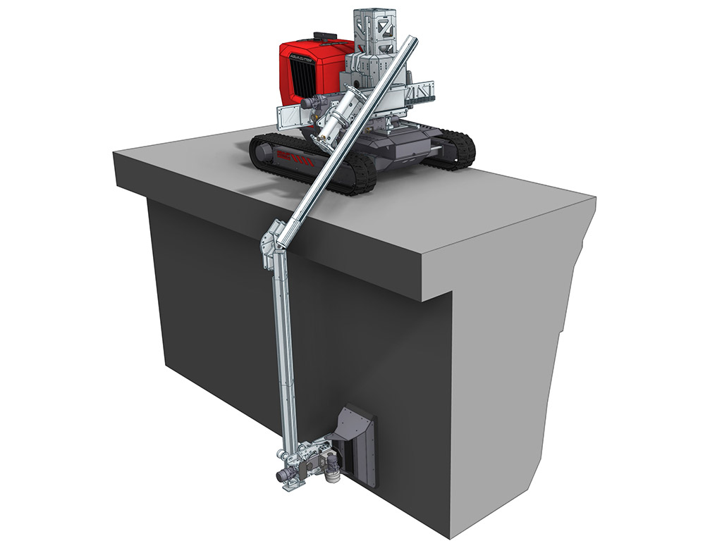 Aqua Cutter Extension Kit Hydrodemoliton Robot Accessory