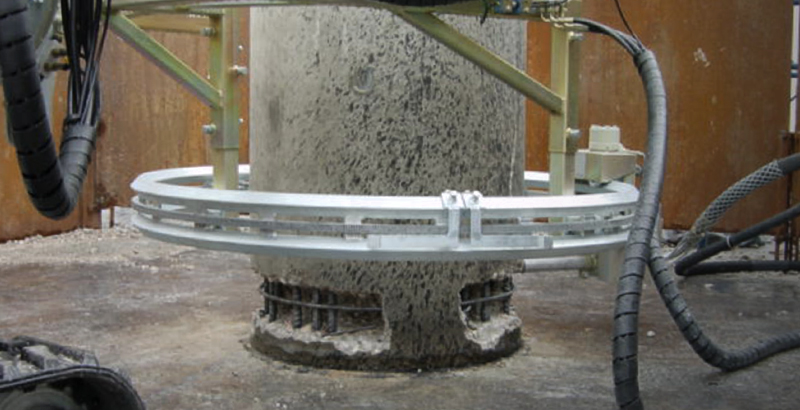Pillars/Piles Hydrodemolition