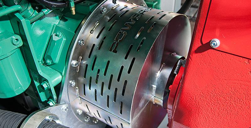 Skid-Mounted High-Pressure Pump flexible coupling