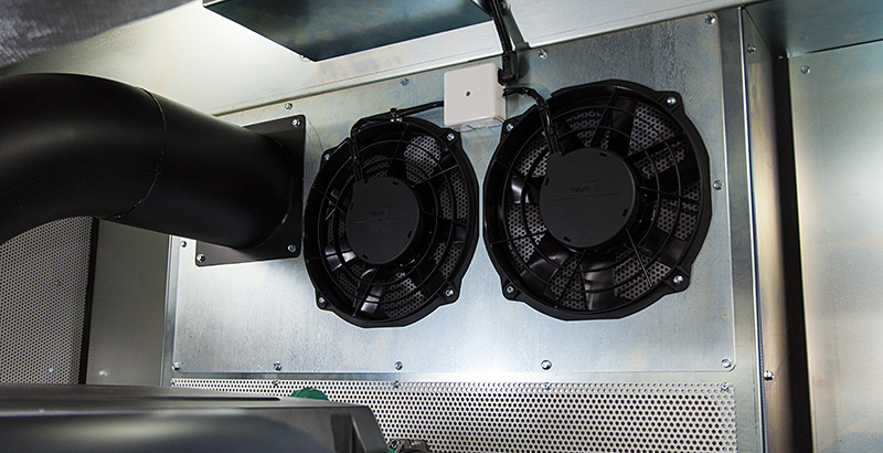 Power Pack ecosilence ventilation