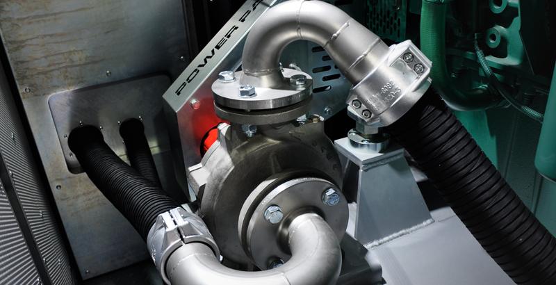 Skid-Mounted High-Pressure Pump Standard booster side