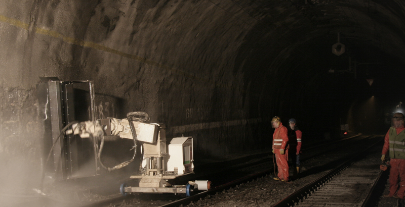 Tunnel Hydrodemolition
