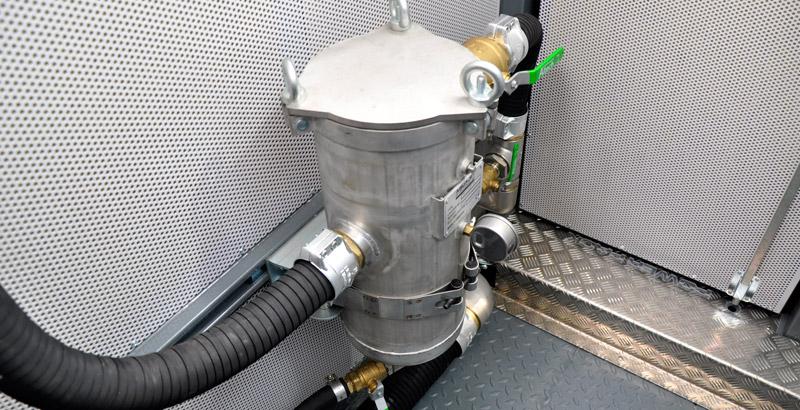 Skid-Mounted High-Pressure Pump Water filter
