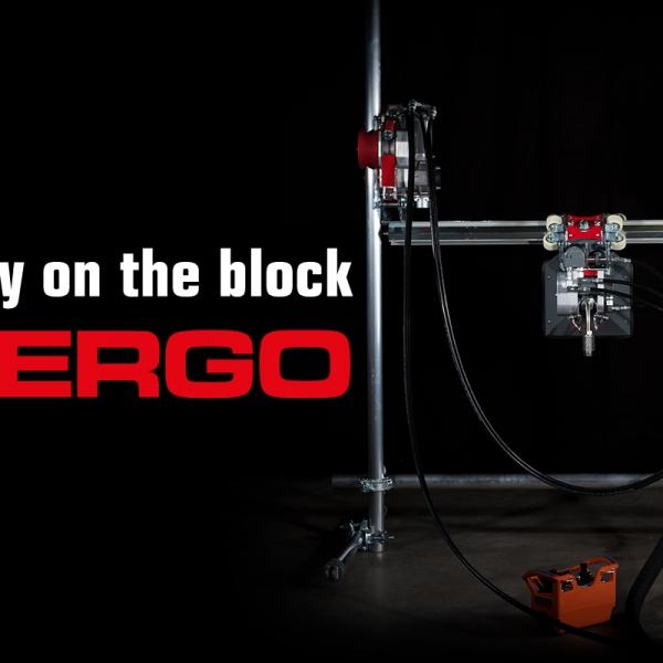 ergo system aquajet hydrodemolition new products