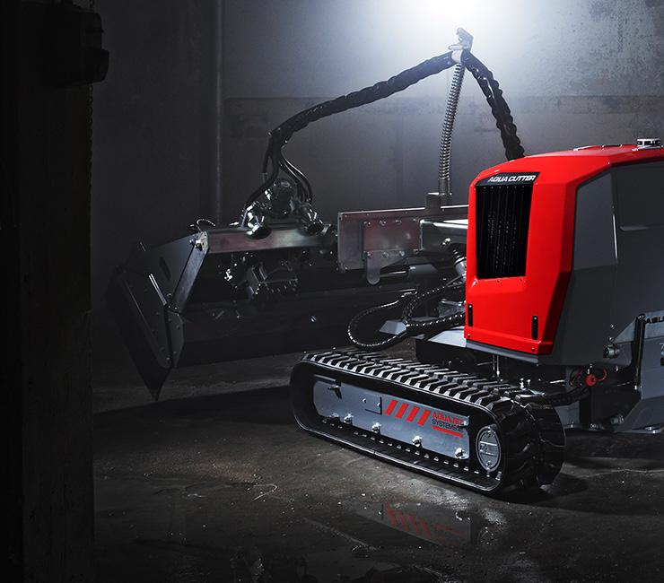 Hydrodemolition Robot Accessories