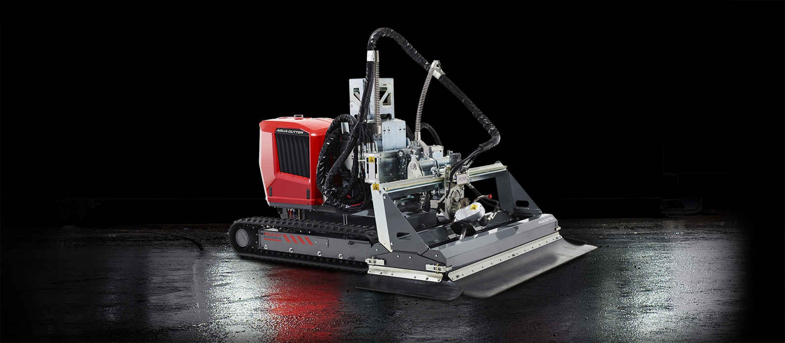 aqua cutter 710ve electric hydrodemolition robot industrial cleaning