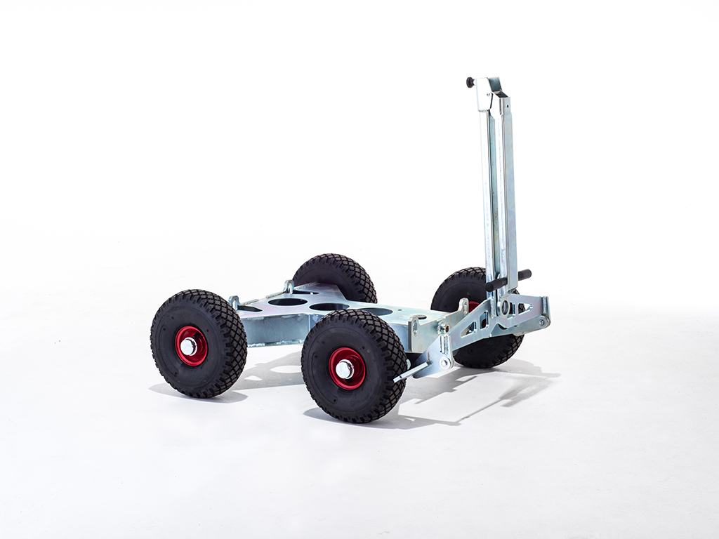 Hydrodemolition Robot Power Control Module wheel cart