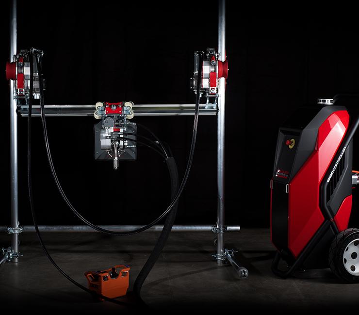 Ergo Go Portable Hydrodemolition System