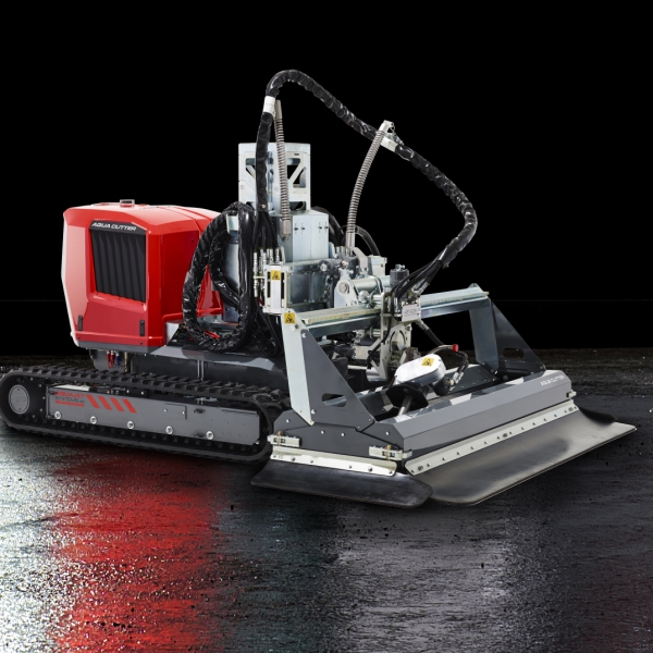 aqua cutter 710V XL aquajet hydrodemolition industrial cleaning refractoring