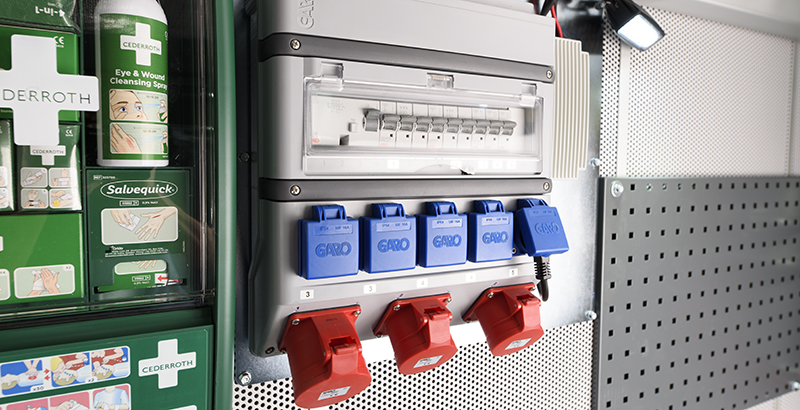 hydrodemolition high-pressure pump power pack electric hook up