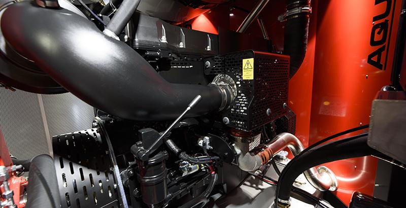 hydrodemolition high-pressure pump power pack engine